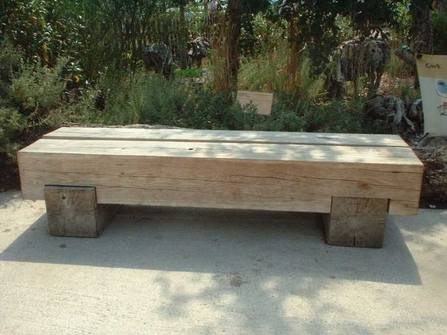 Garden Bench Ideas For Relaxing Area In Your Garden Sleepers In