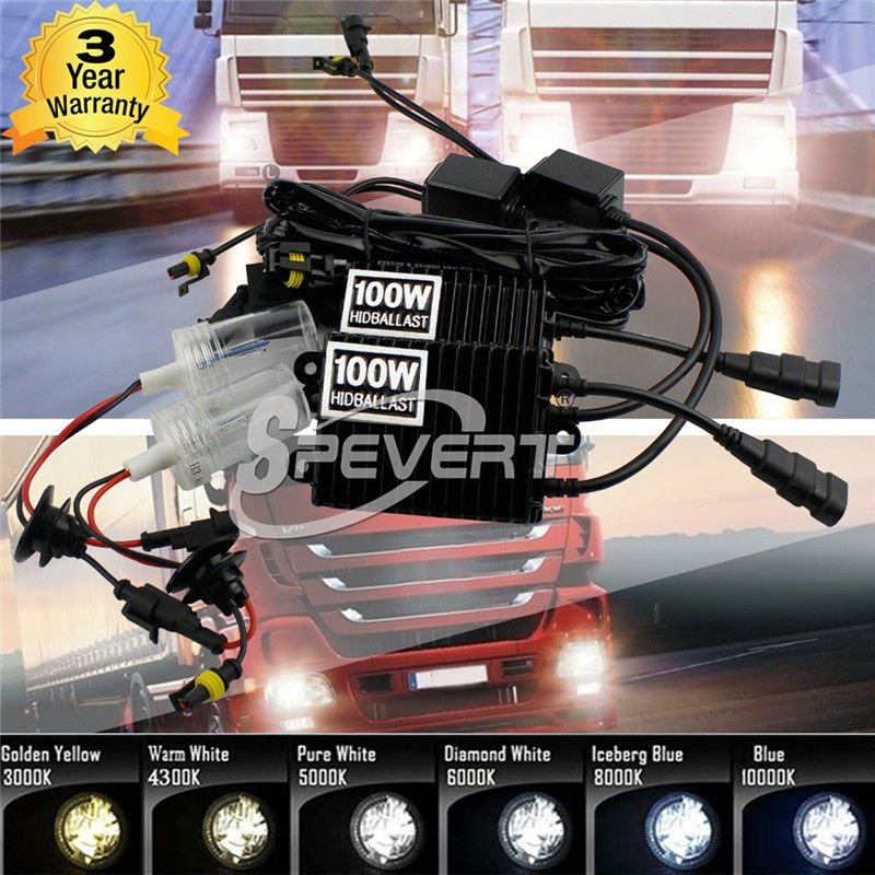 (68.94$)  Buy here  - 100W H7 HID Xenon Conversion Kit Car Headlight 4300K 5000K 6000K Car Truck Headlight Waterproof