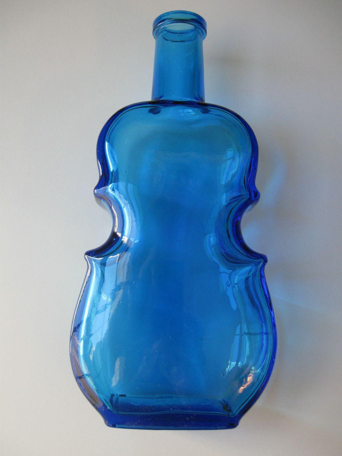 Wheaton glass violin shaped bottle peacock blue 7 1 2 ebay wheaton glass violin shaped bottle peacock blue 7 1 2 ebay reviewsmspy