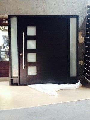 IN SA Side Light Doors We manufacture modern designed entrance pivot doors that will make your & South African Picture of Horizontal Slatted Glass Pivot Door Pre ... Pezcame.Com