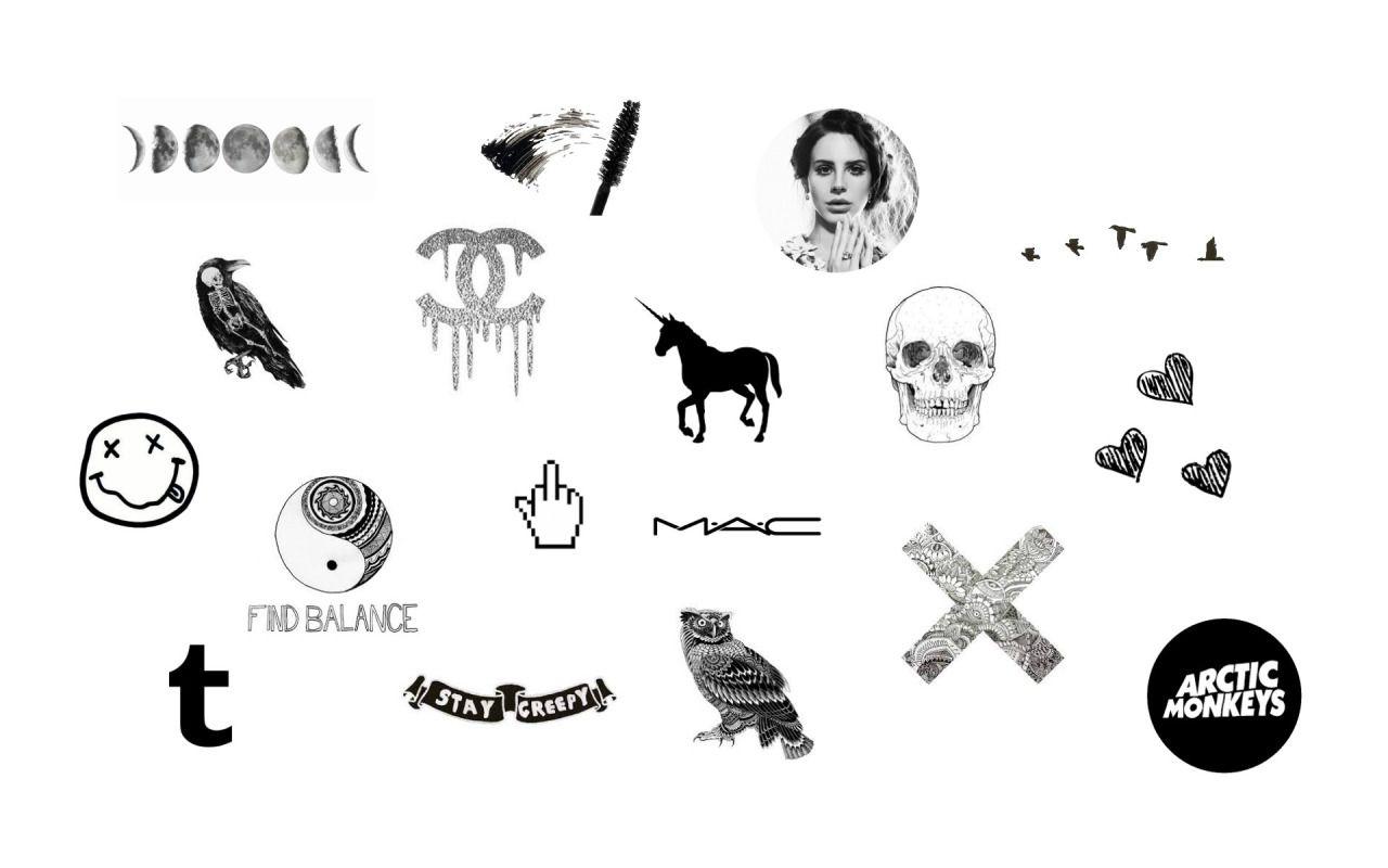 Page Mac Imac Grunge Wallpapers Hd Desktop Backgrounds