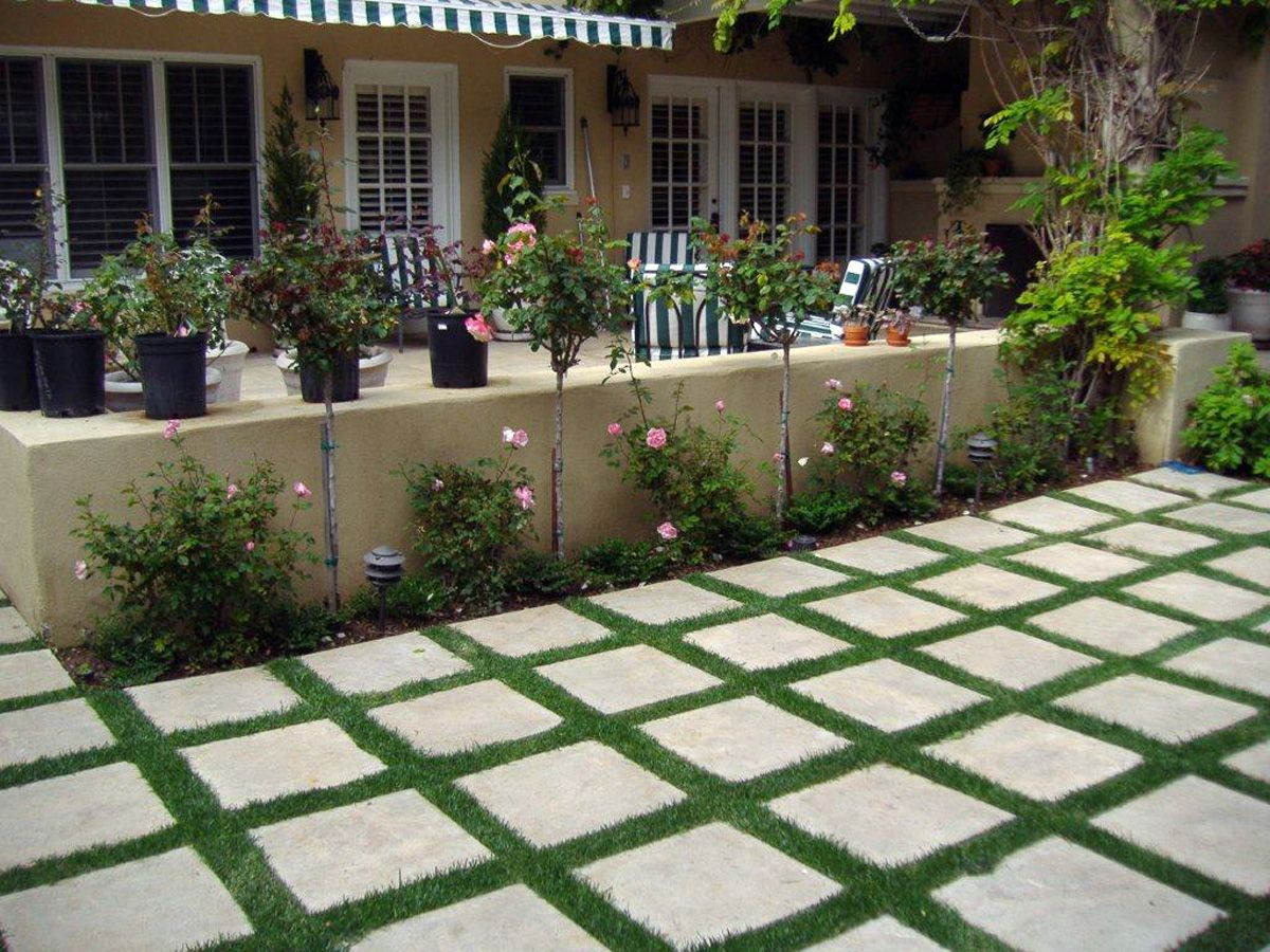 Backyard Landscaping Ideas San Diego drought tolerant landscaping ideas from san diego San Diego Landscaping Ideas Interplanted Landscape Tile