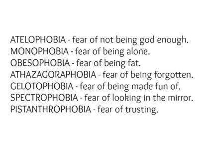 Define pistanthrophobia