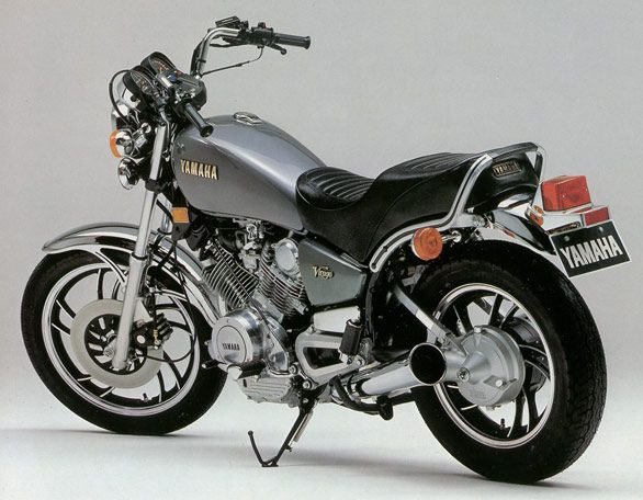 I want this bike! A beautiful Yamaha Virago 750! | Bikes