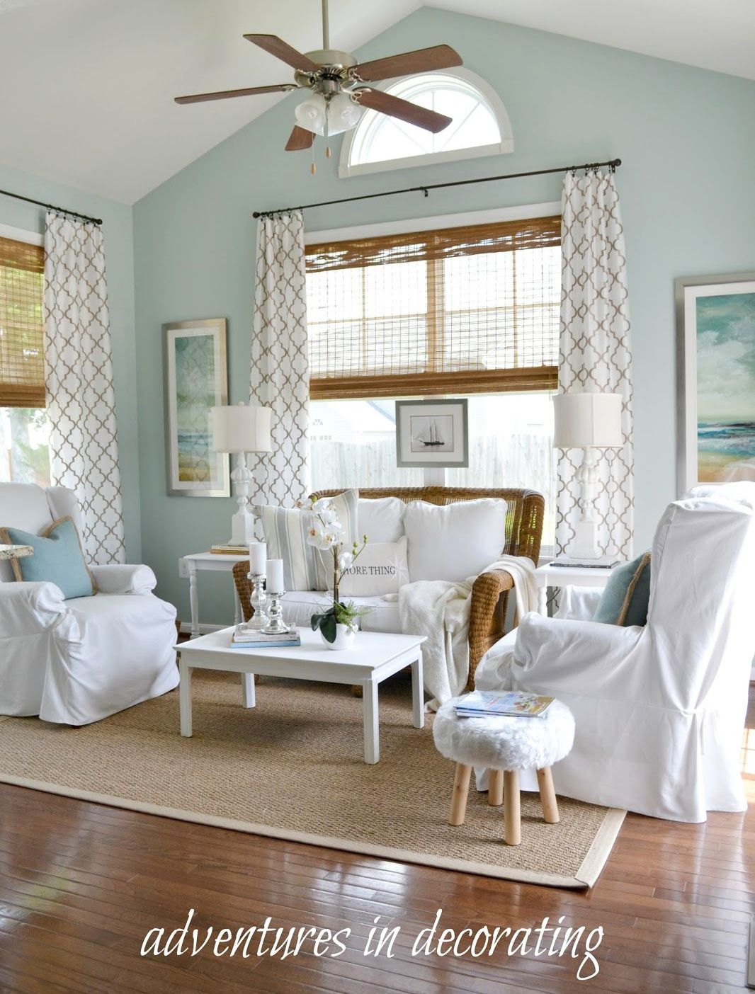 2 Comfortable Coastal Sun Room Decor Ideas The Same Styled In Ways Change Up A Few Things And You Look Feel Of