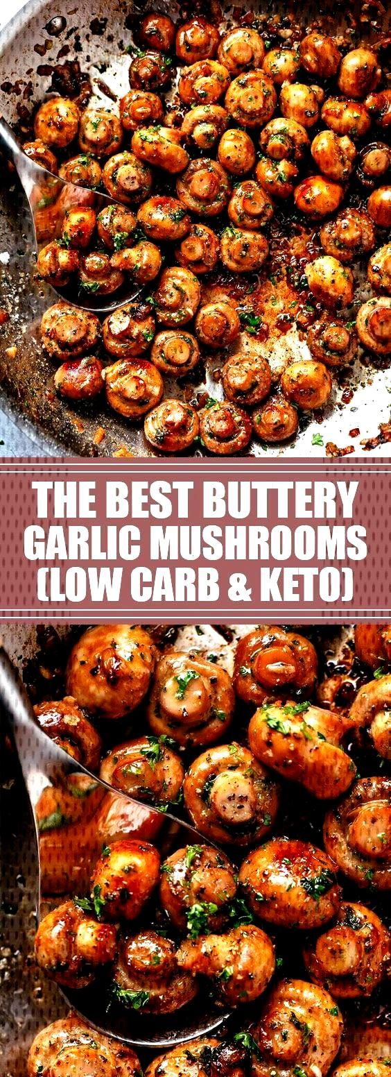 The Best Buttery Garlic Mushrooms | You will love this easy and delicious 10-min... - The Best But