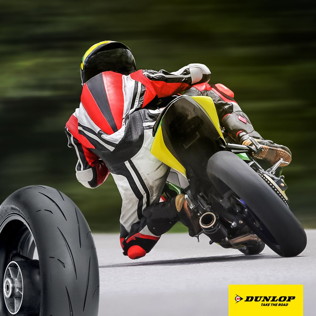Tear up the track with our Competition Road D211 GP tyres