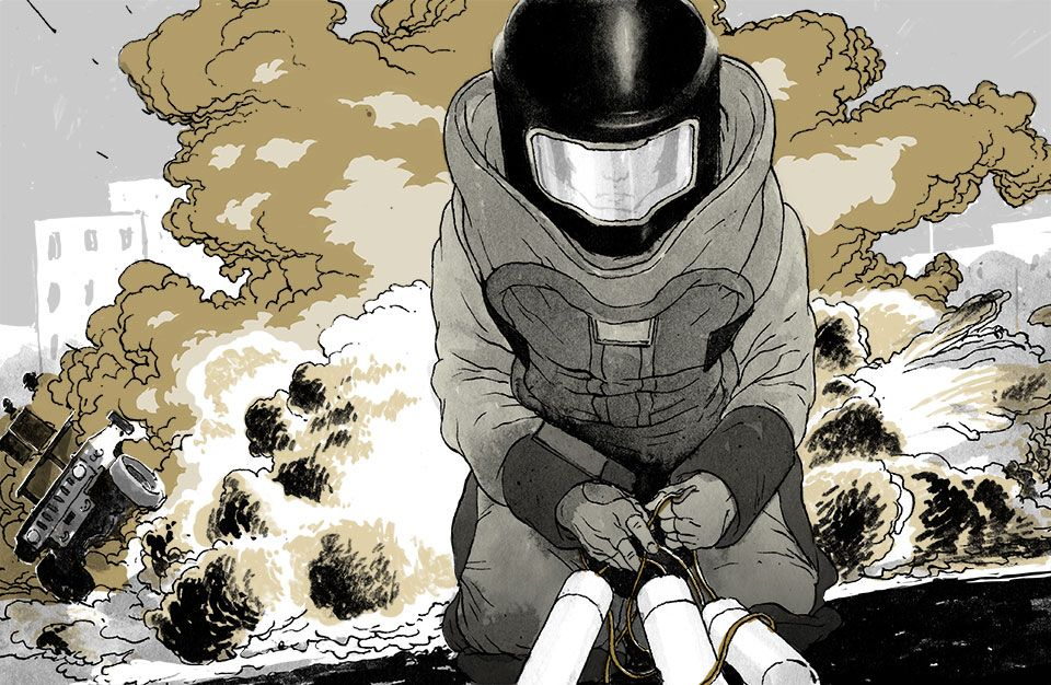 newyorker011.jpg (960×626) Military drawings, Military