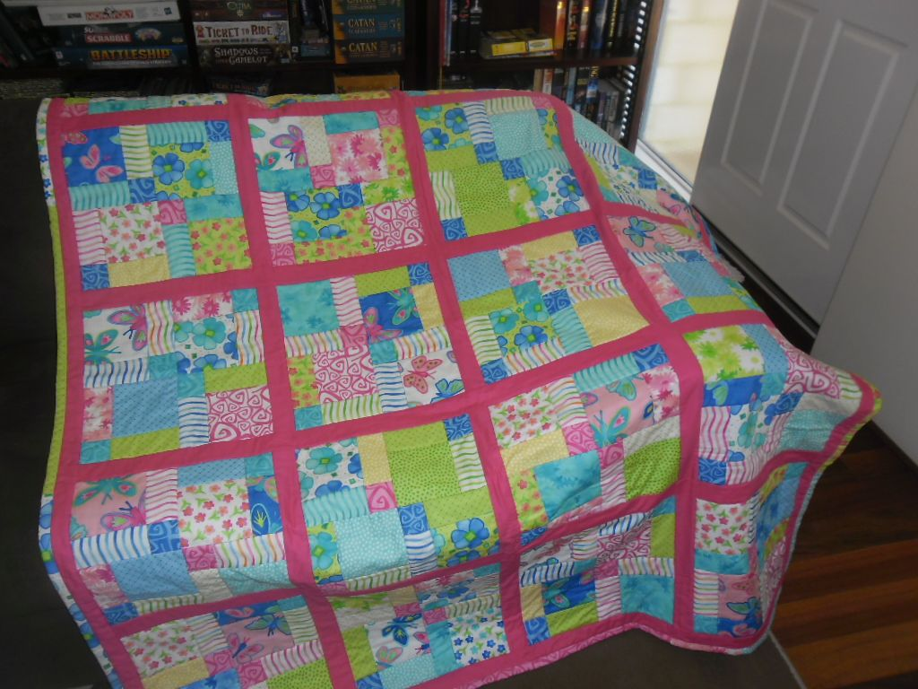 Disappearing 9 Patch. Twirl by Me and My sisters. Pattern found in ... : patch it to me quilt - Adamdwight.com