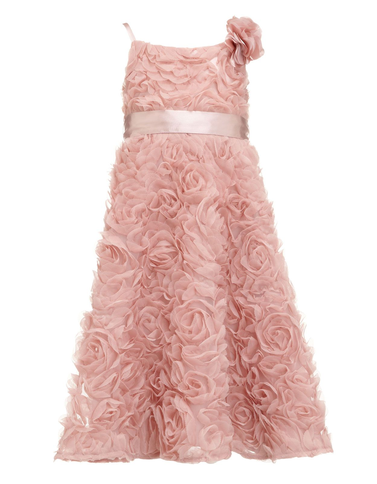 Frosted Rosette Dress | Pink | Monsoon | Flower girl | Pinterest ...