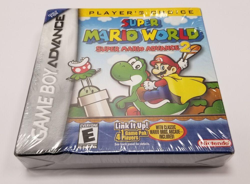 Super Mario World Super Mario Advance 2 For Nintendo Game Boy