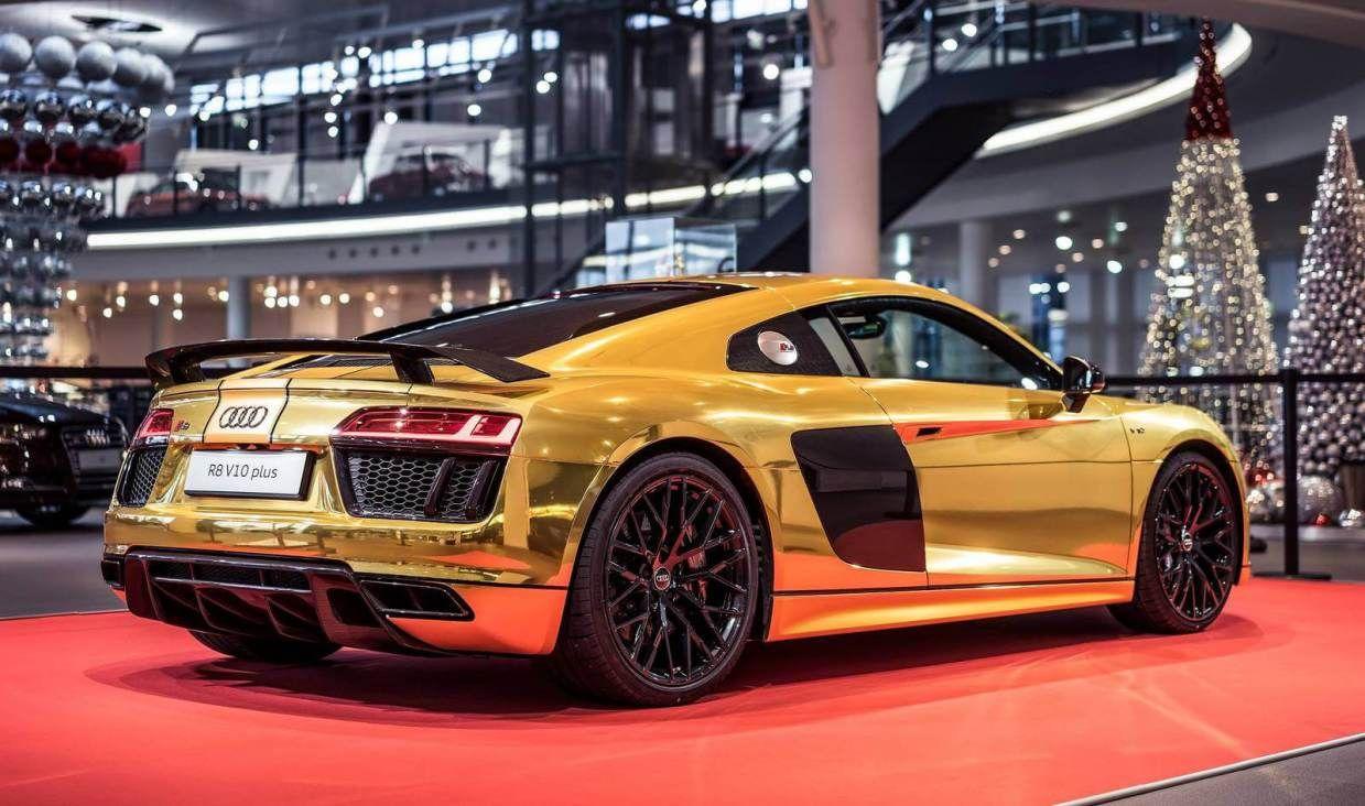 Gold Audi R8 V10 Plus Audi R8 Blanc Voitures Audi Audi