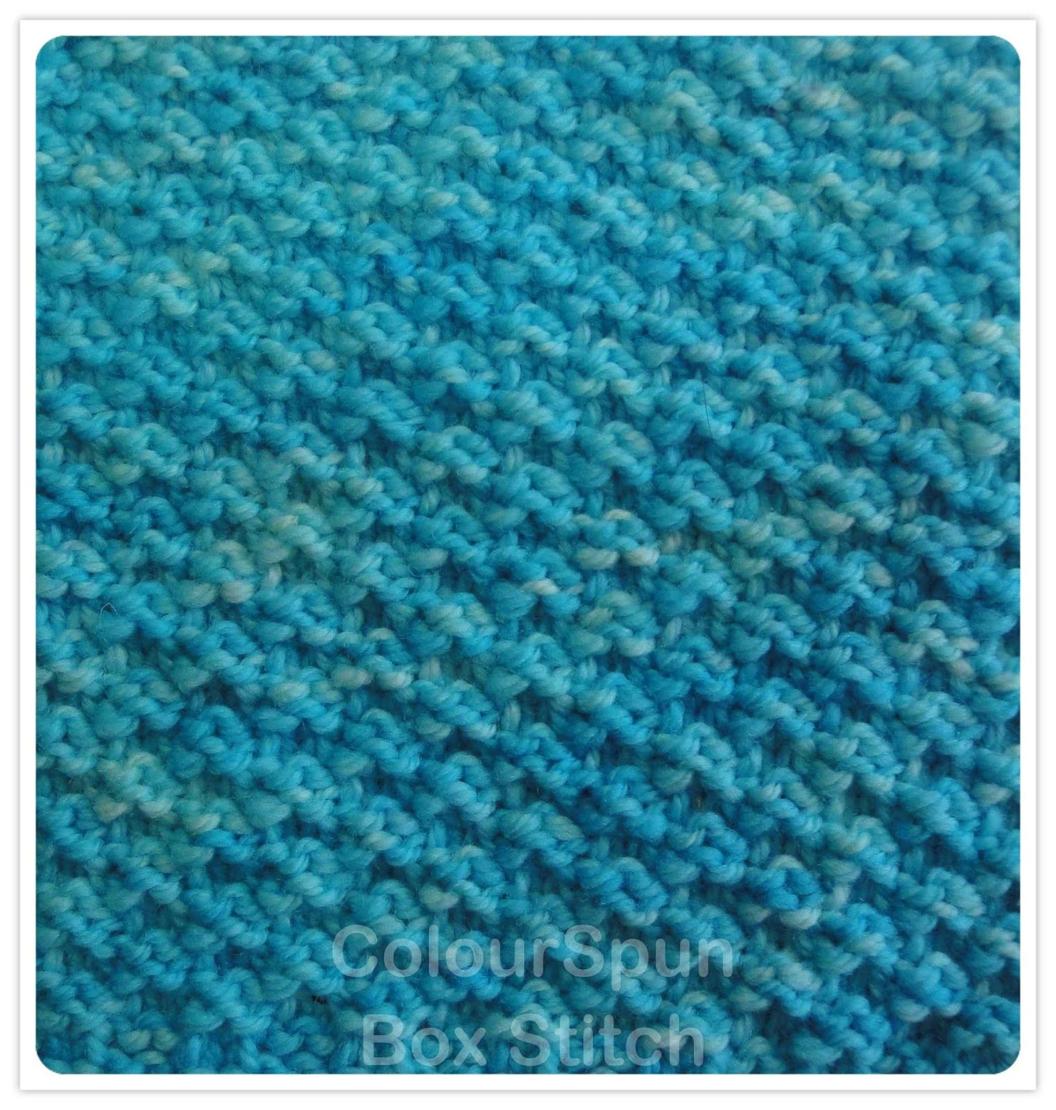 Using only simple knit and purl stitches, this pattern produces a ...