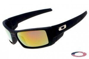 719e03db4f Fake Oakley Gascan Sunglasses Black   Fire Iridium
