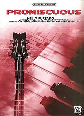 Sheet Music 2006 Promiscous , Nelly Furtado 81