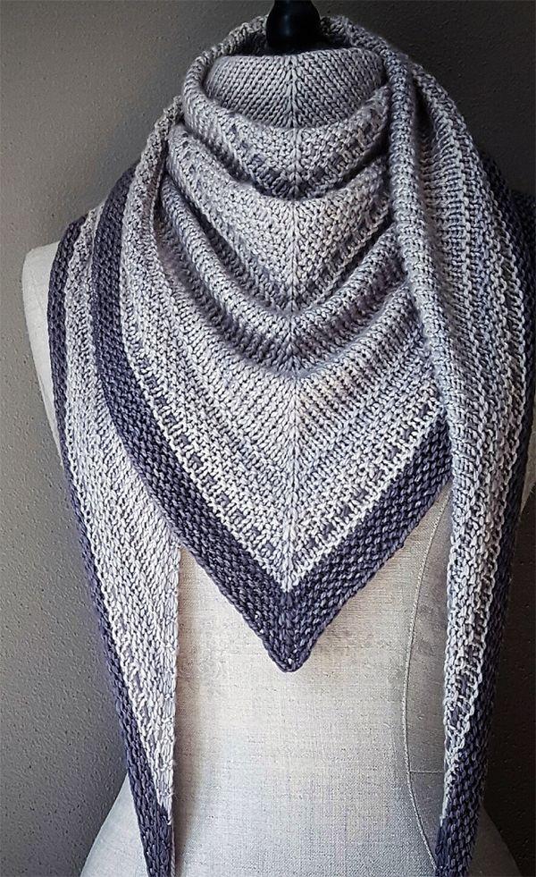 Simply Knitting pattern by Cheryl Faust #yarninspiration