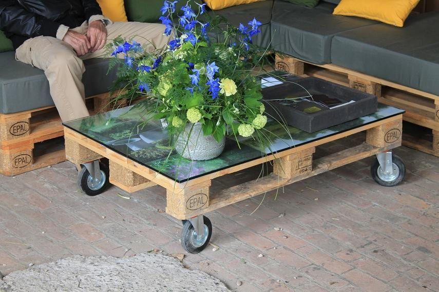Construire un salon de jardin en bois de palette | Thứ cần mua ...
