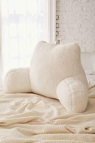 Floor Pillows + Fleece Throws