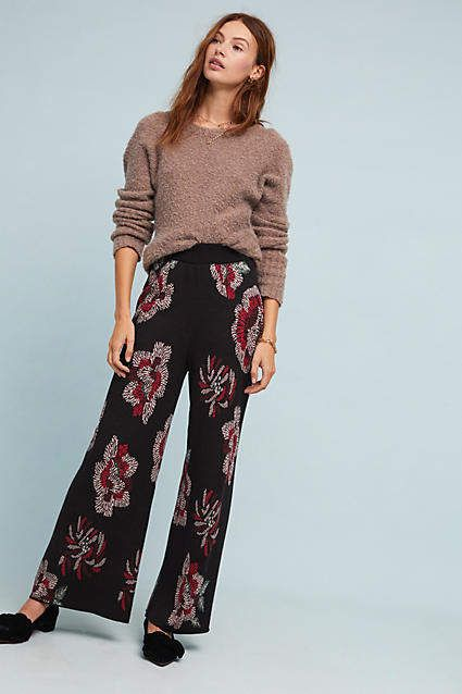 64c6e2cd408 Farm Rio Floral Sweater Pants #ad #AnthroFave #AnthroRegistry Anthropologie  #Anthropologie #musthave #styleinspiration #ootd #newarrivals #outfitideas  ...