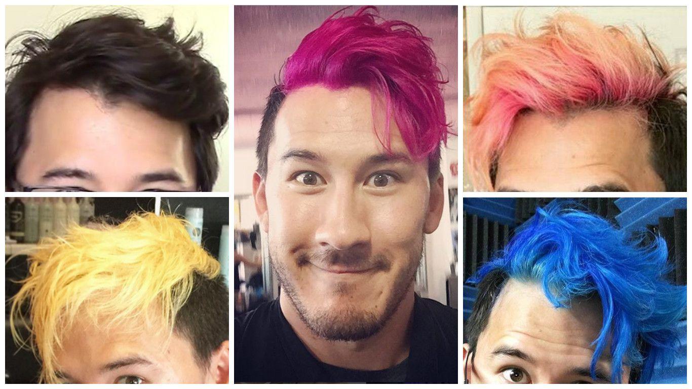 Evolution Of Markiplier S Hair Markiplier Hair Markiplier Hair Evolution