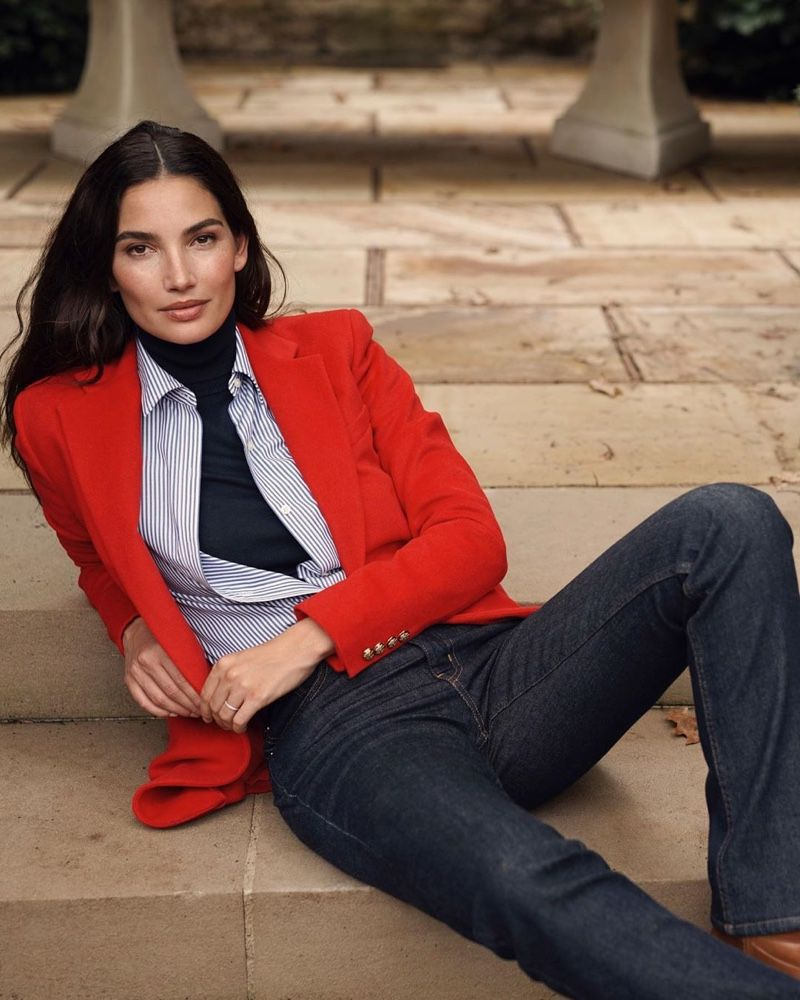 Lily Aldridge Looks Elegant in Lauren Ralph Lauren Fall '19 Campaign