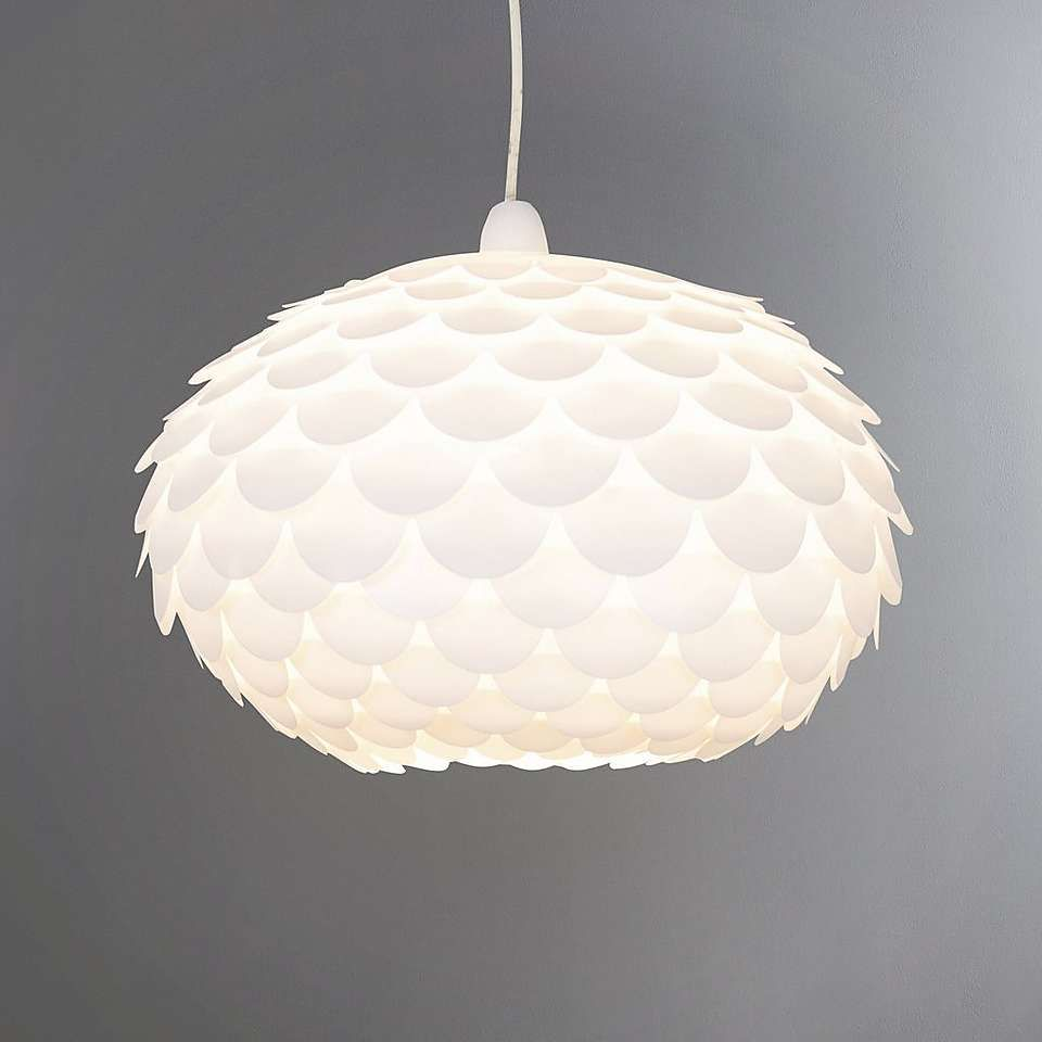 Priya White Easy Fit Pendant In 2019 Beach Lighting