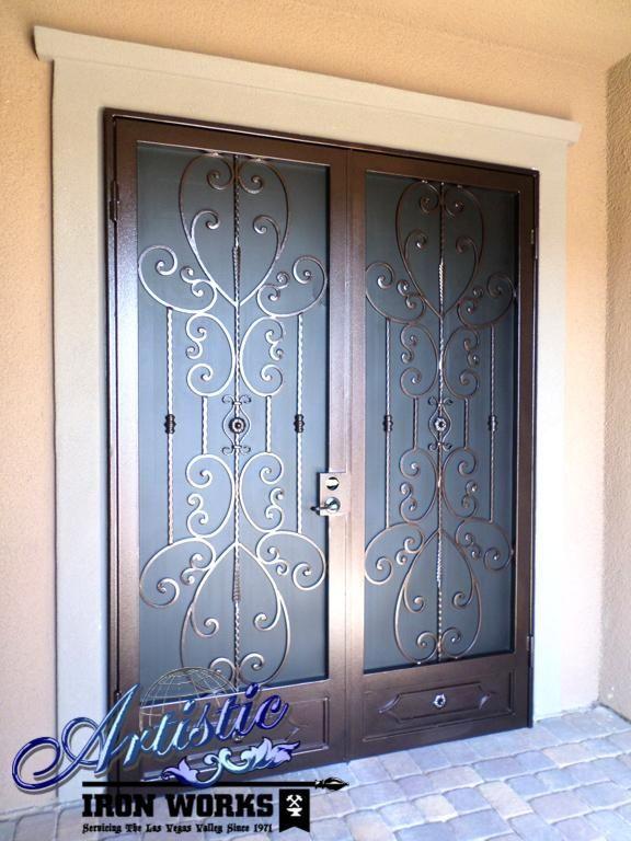 Iron Security Door With Style Modelos De Puertas