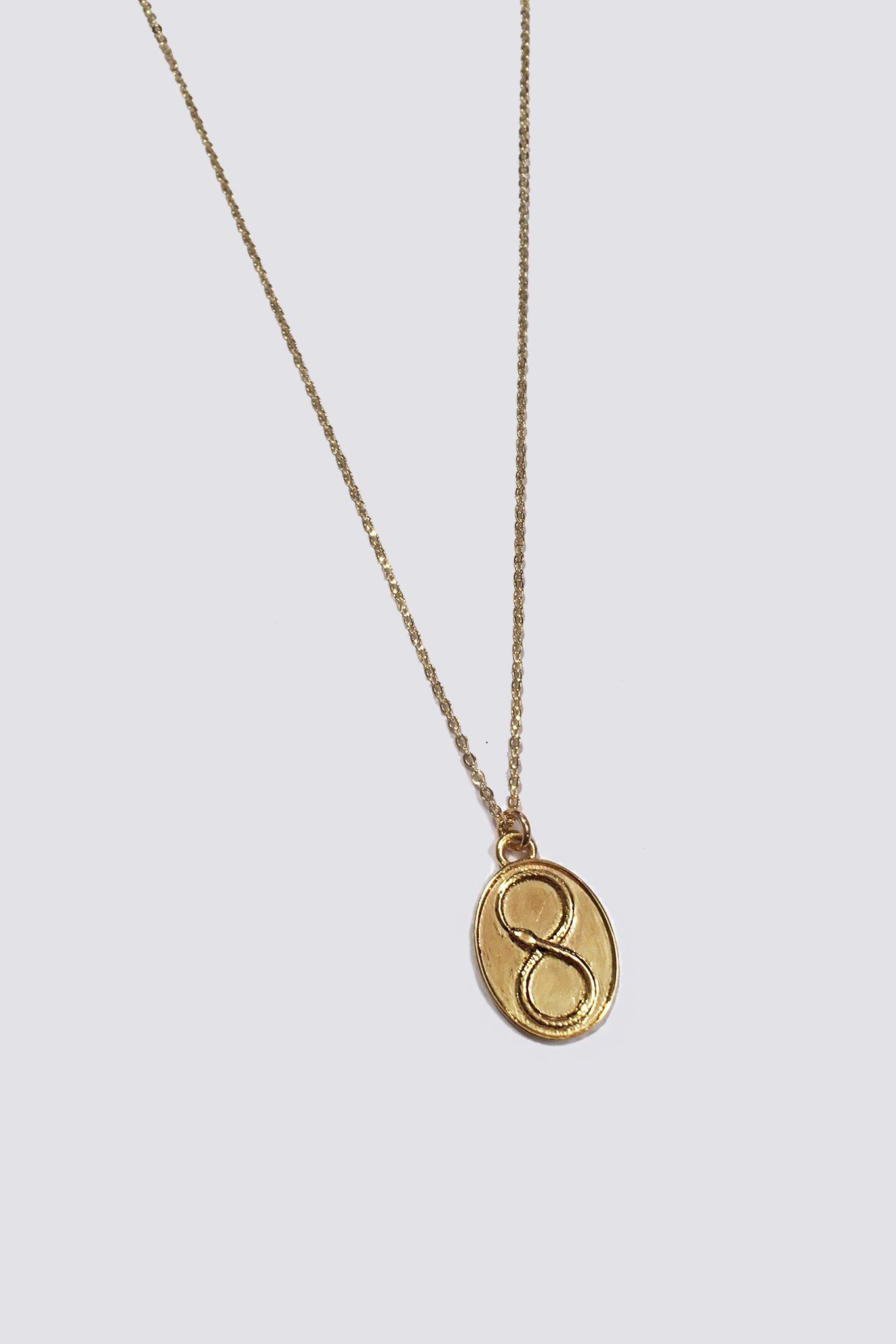 Gold Ouroboros Necklace | GIVE ME THAT | Gold, Gold necklace