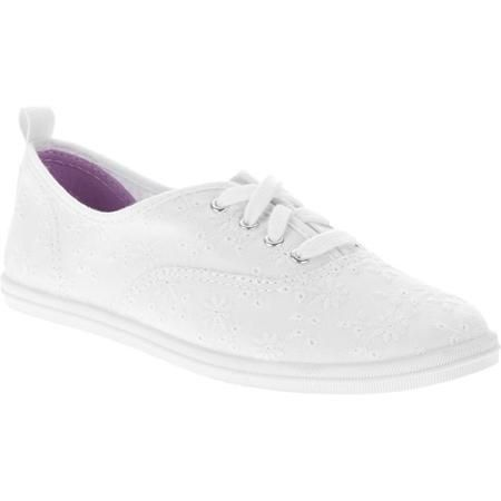 Casual Lace-up Canvas Sneaker - Walmart