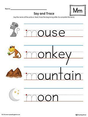 Early Childhood Writing Worksheets Letter M Worksheets Alphabet Worksheets Preschool Teaching Child To Read Free letter m worksheets