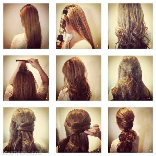 Diy curly ponytail diy diy crafts do it yourself diy art diy tips diy curly ponytail diy diy crafts do it yourself diy art diy tips dig ideas diy solutioingenieria Images