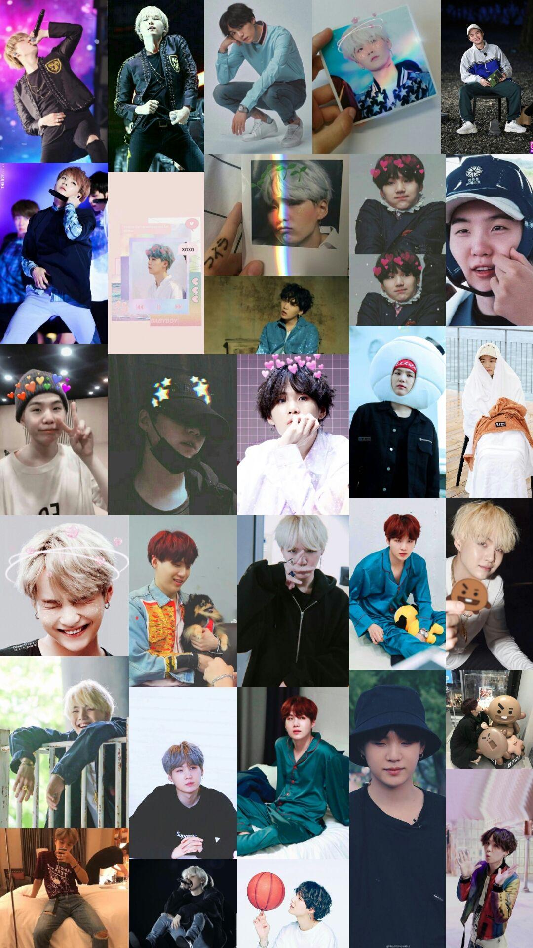 Suga Collage Suga Bts Pictures Bts Wallpaper Bts wallpaper suga collage