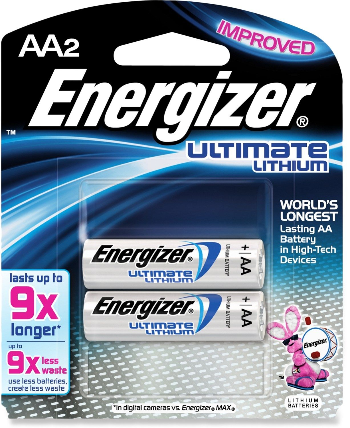 Energizer Lithium Aa Batteries Package Of 2 Energizer Battery Energizer Batteries
