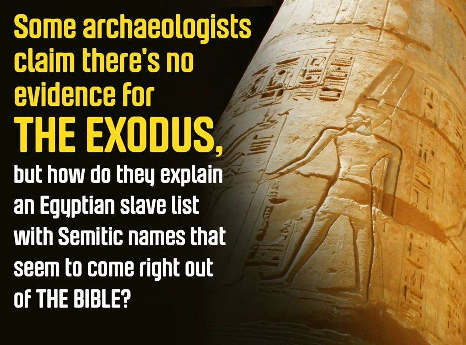 1 Patterns Of Evidence Exodus Did It Happen Bible Evidence