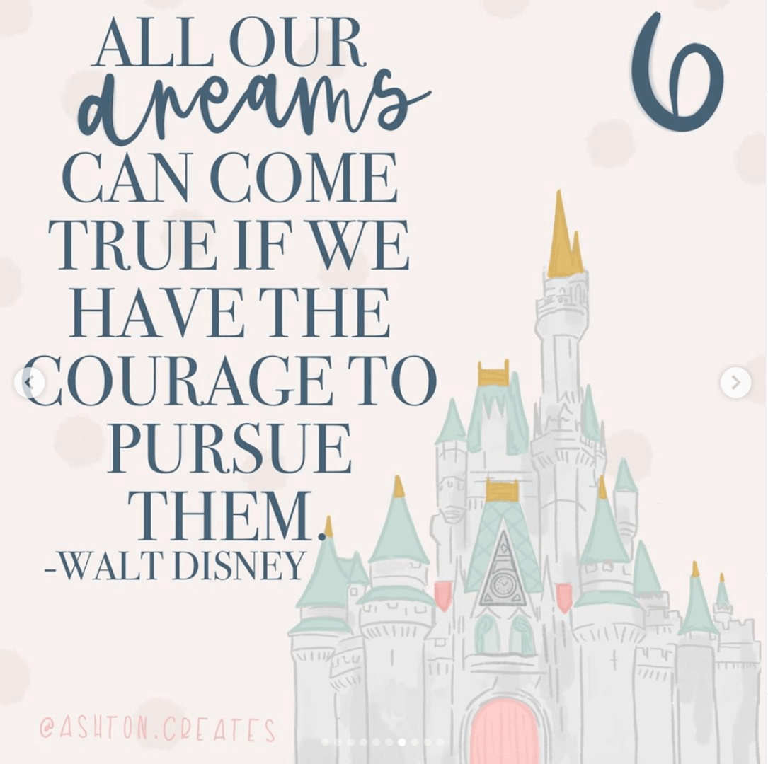 Inspirational Walt Disney Quotes to Inspire Every Enneagram Type - Inside the Magic