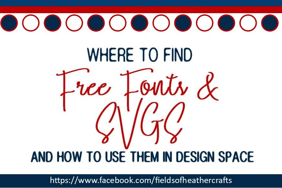 Download Where To Find Free Fonts & SVGS - And How To Use Them In ...