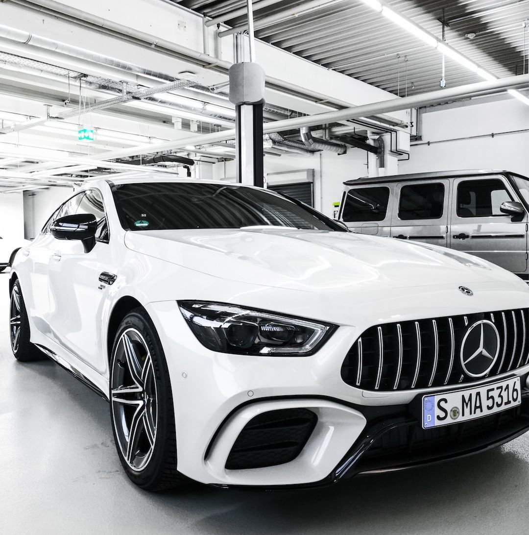 [Mercedes-AMG GT 53 4MATIC+ 4-Door Coupé