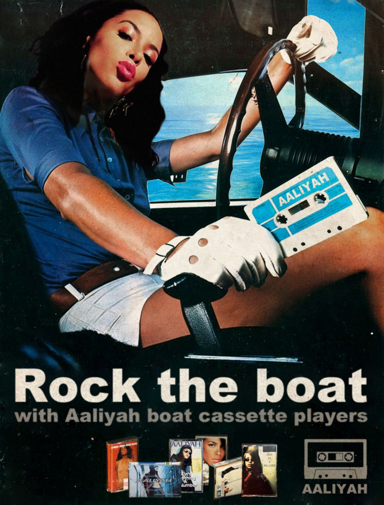 Rock the boat / Aaliyah © Ads Libitum : facebook / tumblr / behance