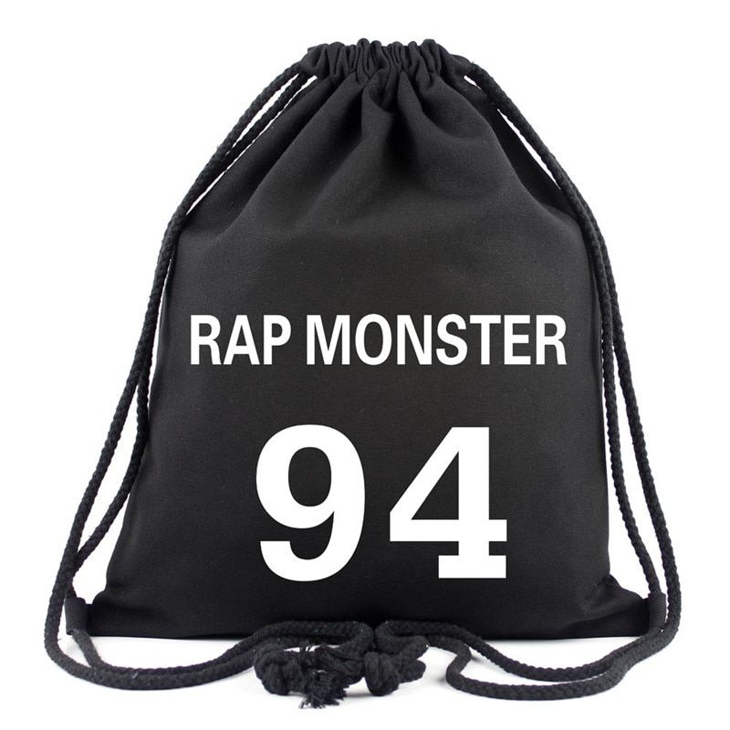 Best Kpop Drawstring Bag All Members Bts Backpack Bts Bag Drawstring Bag