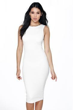 Zoe Bandage Midi Dress