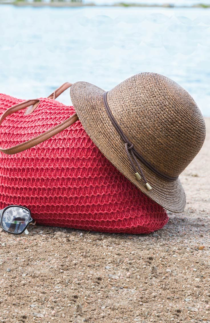 Some  sunprotection tips for   BeachDays   • Wear a hat with a ... a9829ad17ae