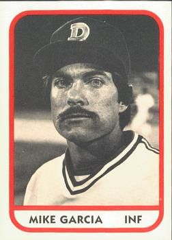 1981 Tcma Durham Bulls 2 Mike Garcia Front 1981 Baseball Cards