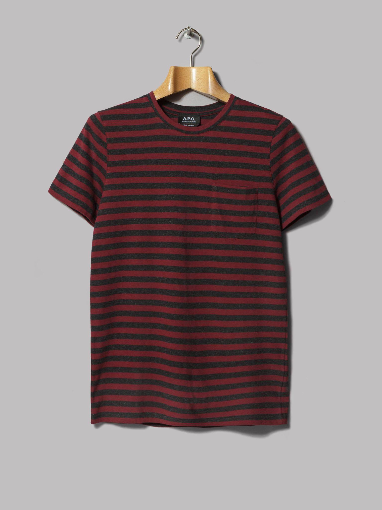 9ec3722d1ee4 A.P.C. T-Shirt Keanu (Anthracite)