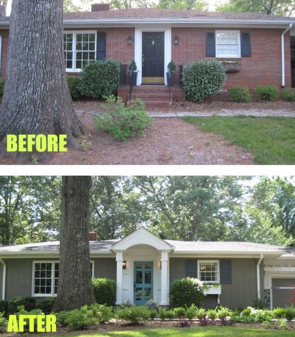 Exterior Home Makeovers: Home Exterior Makeover, Exterior Makeover