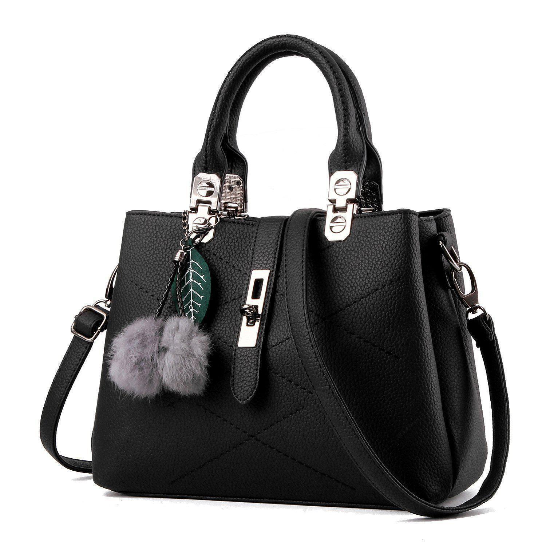 Edgy Exclusive Grey Italiana Leather Tote Handbag
