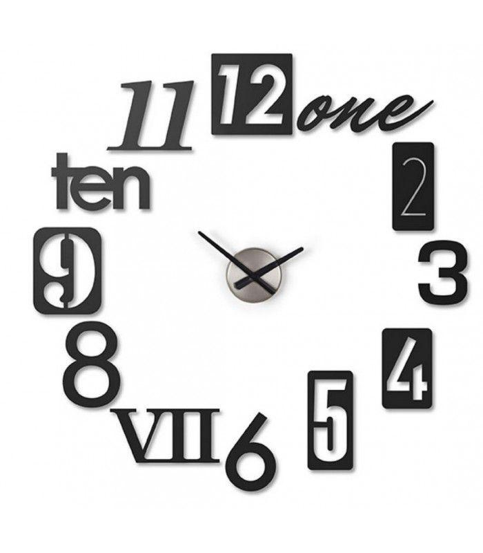 horloge murale design numbra umbra