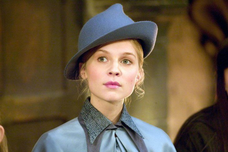 Fleur Delacour Played By Clemence Poesy Harry Potter Witch Harry Potter Actors Fleur Delacour