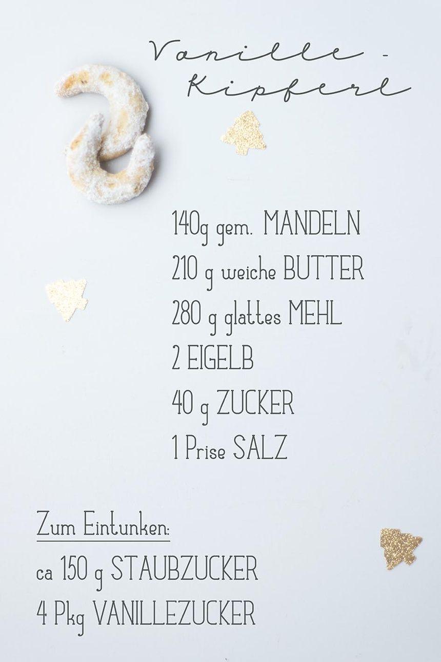 Mein persönlich liebstes Vanillekipferl Rezept #vanillekipferlrezept