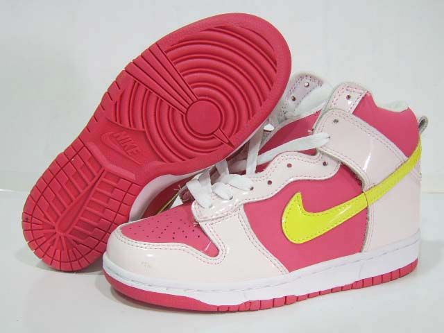 Nike Dunk Sb High Flamingo White Pink White