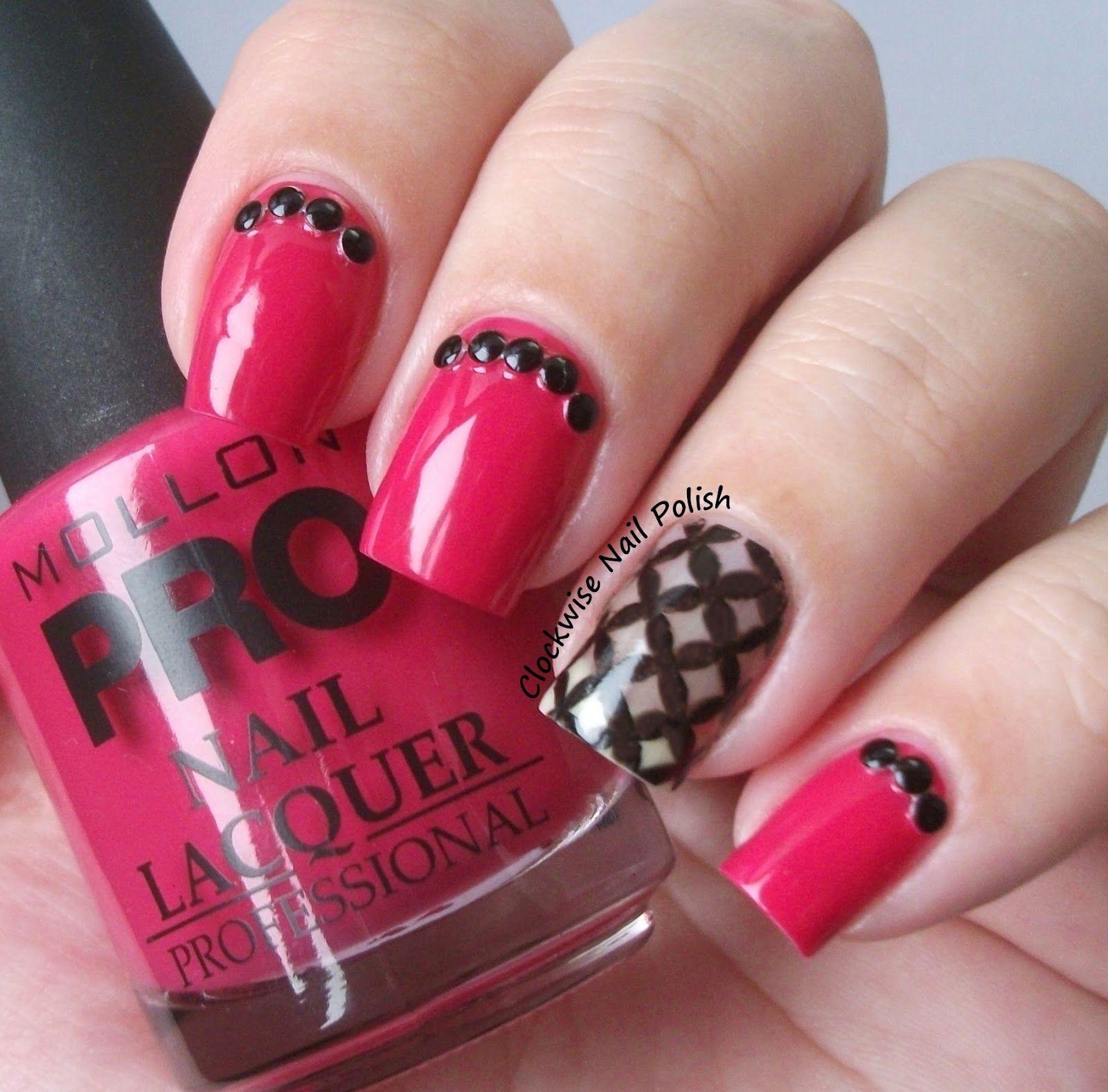 The Clockwise Nail Polish: Mollon Pro 196 Pink Quartz Review   Nails ...